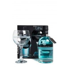 The London Nº1 Gin Giftpack met glas