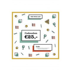 Cadeaubon 25 EUR