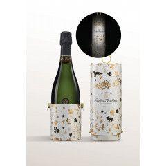 Nicolas Feuillatte Brut Blanc de Blancs Vintage in tinnen tube 'Lantern Enchantée'