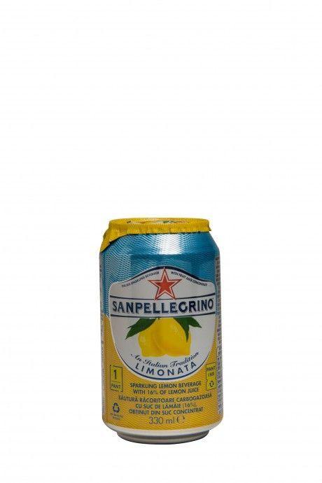 Sanpellegrino Sparkling Fruit Beverages Limonata (blik)