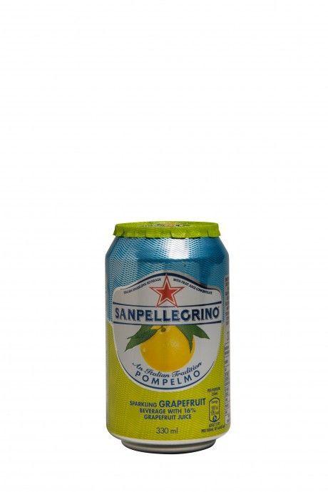 Sanpellegrino Sparkling Fruit Beverages Pompelmo (blik)