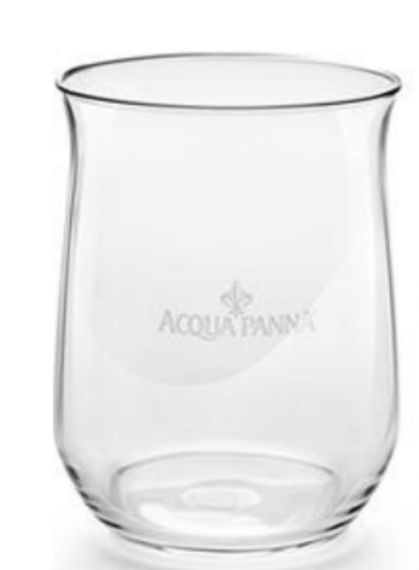 Acqua Panna restaurantglas