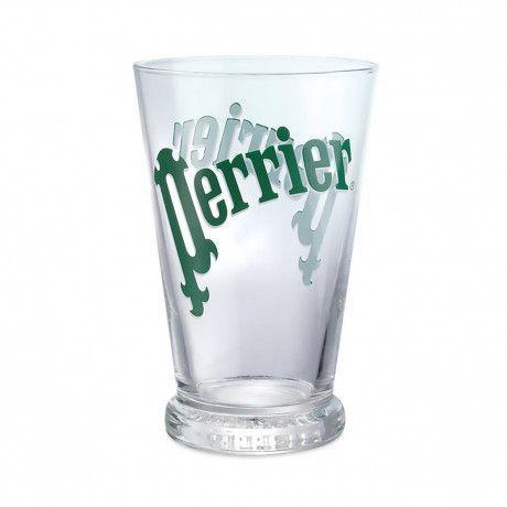 Perrier Glas