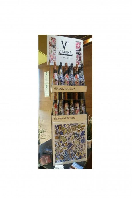 GB Vilarnau Mini Pallet display