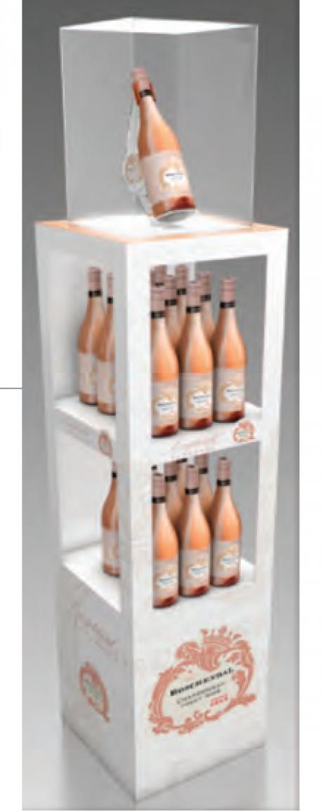 Boschendal Chardonnay-Pinot Noir display