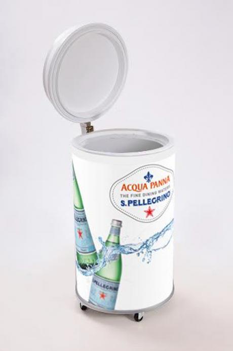 Acqua Panna & S.Pellegrino branded mobiele koeler