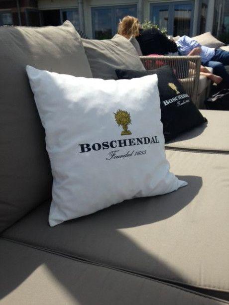 Boschendal lounge Kussen Wit