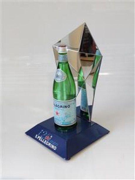 S.Pellegrino diamond bottle glorifier