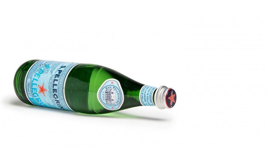 S.Pellegrino glazen fles 75cl (doos van 12)
