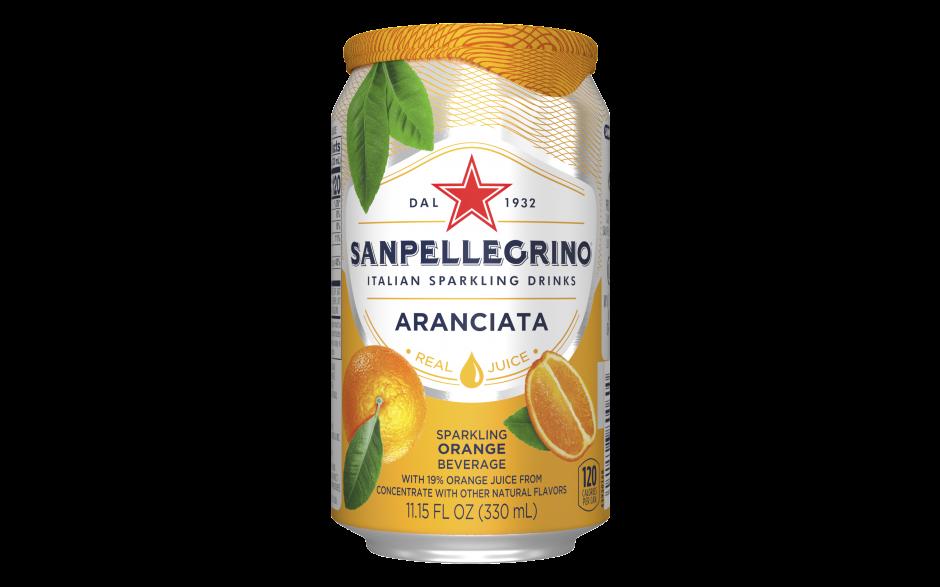 Sanpellegrino Aranciata (24 blikjes)