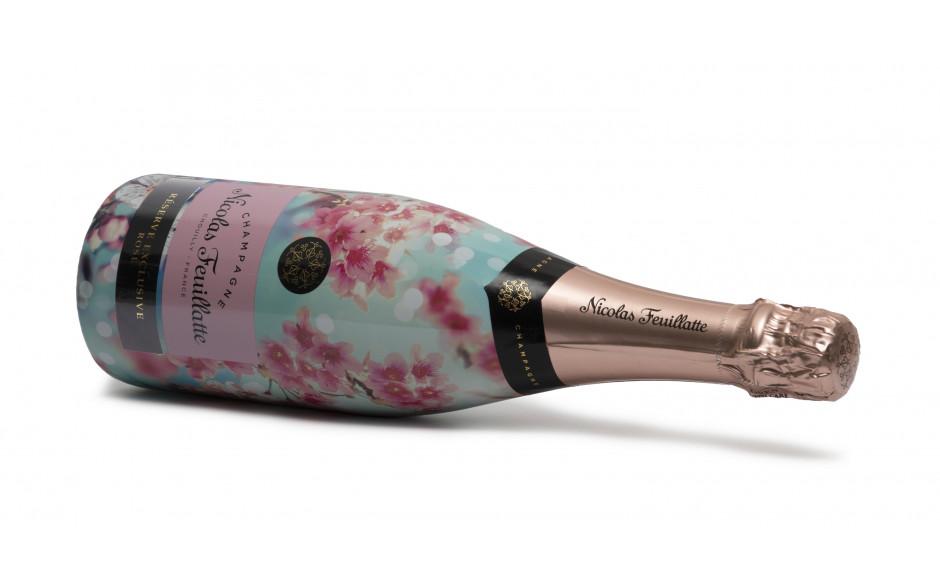 Nicolas Feuillatte rosé Brut Sleeve 1st Bloom of Spring