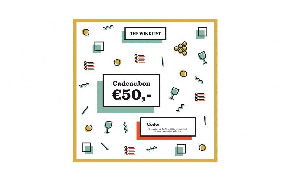 Cadeaubon - 50 euro